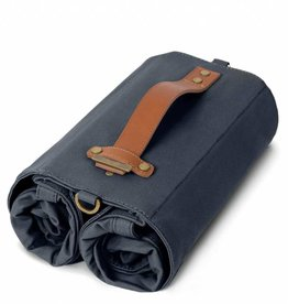 Linus Bikes Panniers Market Bag Double Navy (pair)