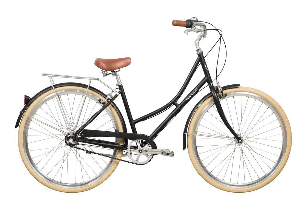 Pure Cycles Pure City Elliot 3sp 43/S Black/Silver
