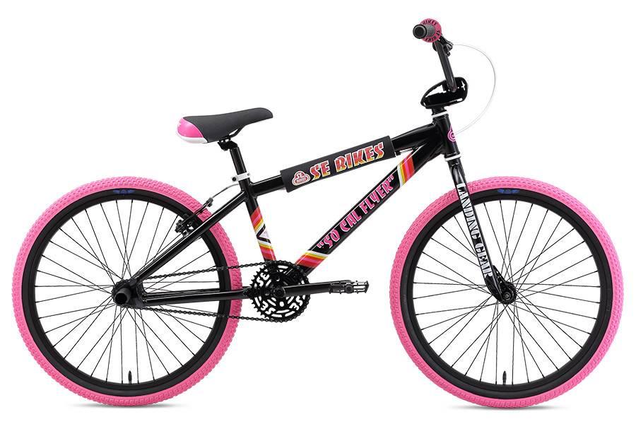 SE BIKES So Cal Flyer 24 Black/Pink