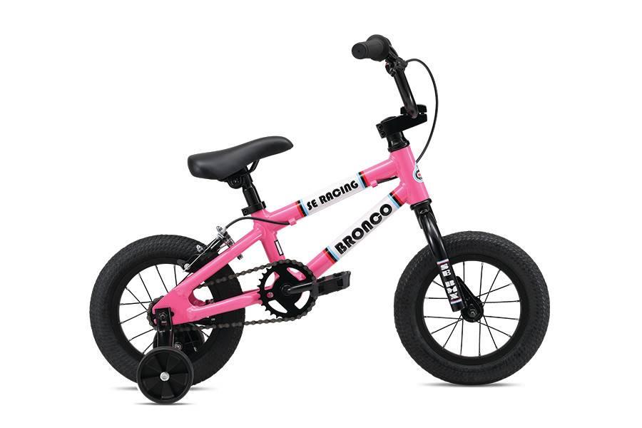SE BIKES Bronco 12 Hot Pink