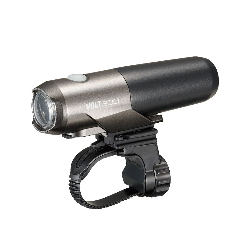 CatEye Headlight Volt 300 USB w/ helmet mount
