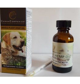 Canna Companion Whole Plant Hemp Oil