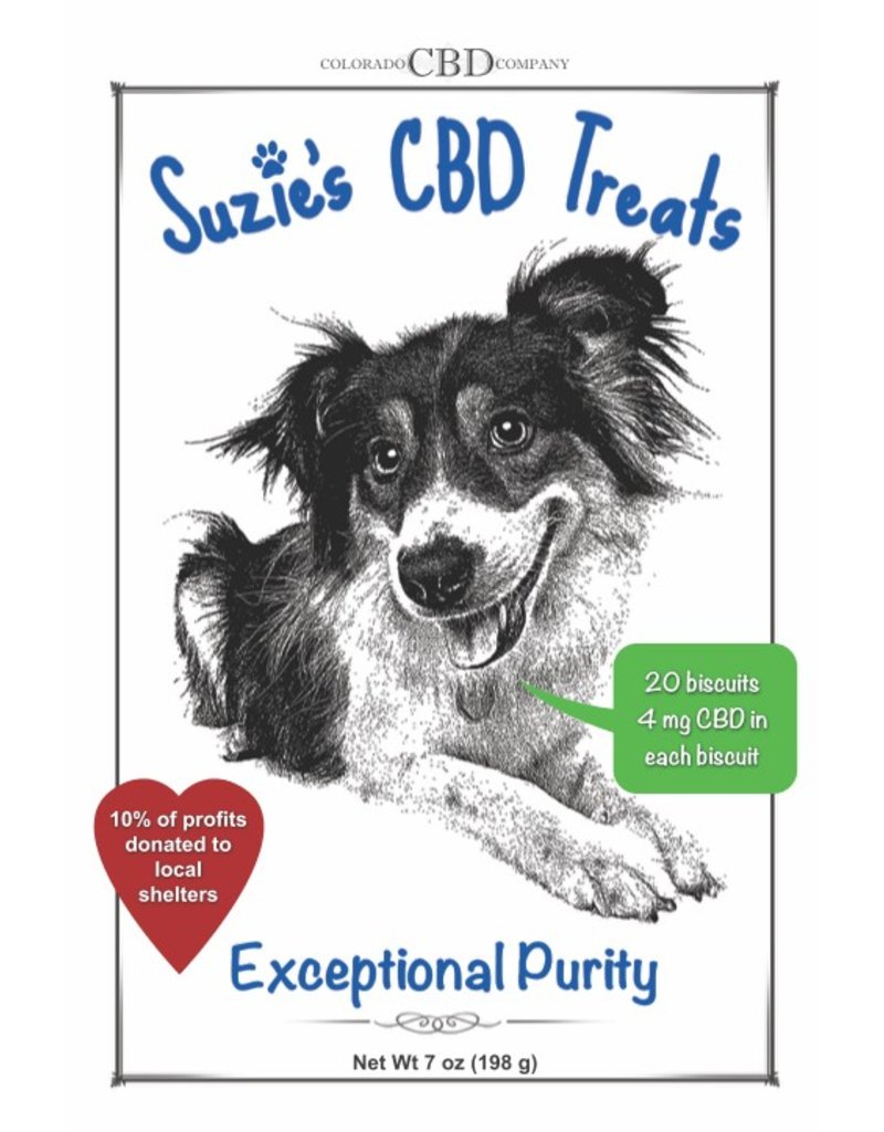 Colorado CBD Company Suzie's CBD Treats
