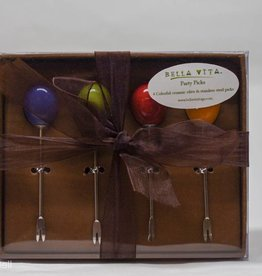 Bella Vita Bags Olive Picks Set Of 4 Olive Picks