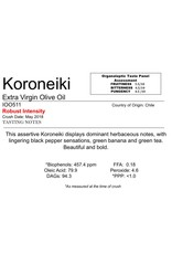 The Anointed Olive Southern Hemisphere Olive Oil A.L. Estate Koroneiki-Chile