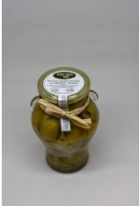 """Delizia Pitted Queen Olives, Gordal """"La Abuela""""(with onion)"""
