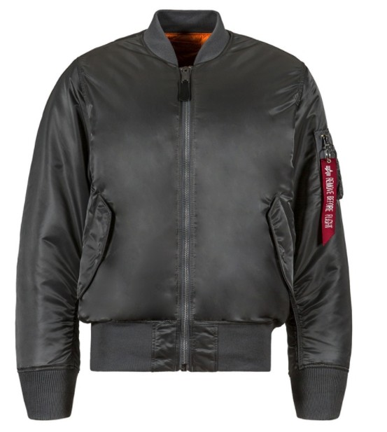 ALPHA INDUSTRIES ALPHA INDUSTRIES MEN'S SLIM FLIT FLIGHT JACKET MA-1 MJM44530C1