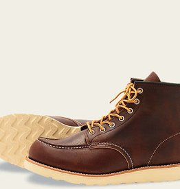 "RED WING RED WING SHOES MEN'S 6 "" MOC TOE 8138"