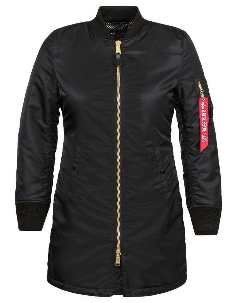 ALPHA INDUSTRIES ALPHA INDUSTRIES WOMEN'S LONG W MA-1 WJM47503C1