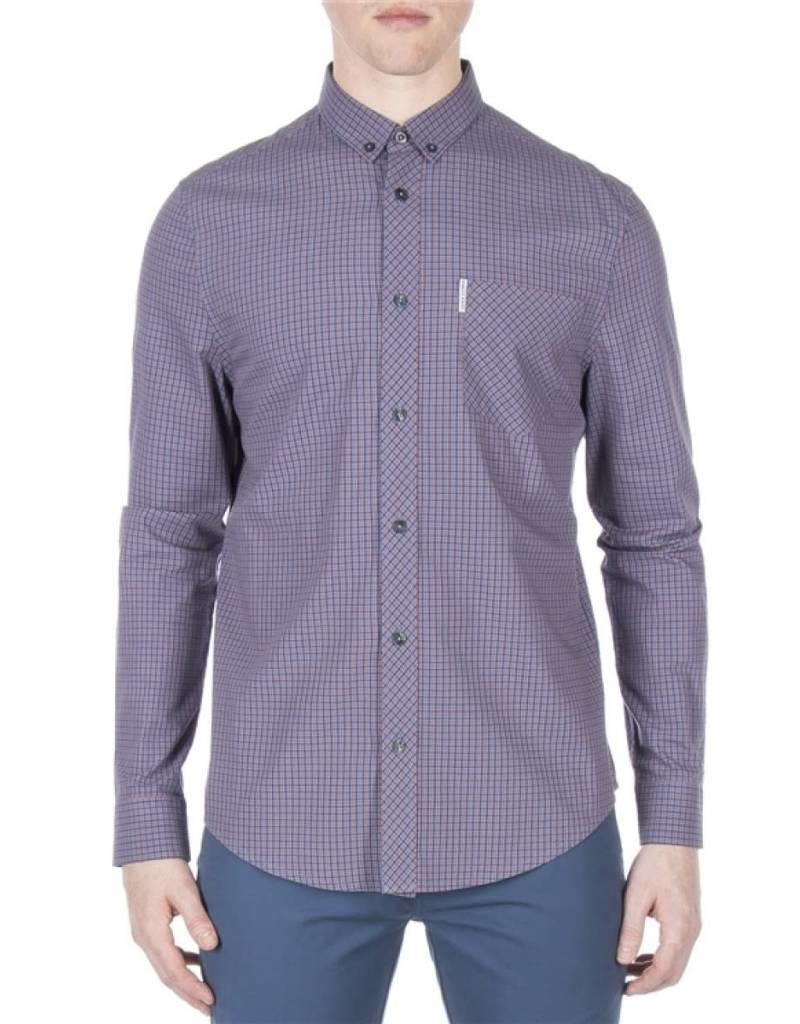 BEN SHERMAN BEN SHERMAN MEN'S LS MINI HOUSE GINGHAM