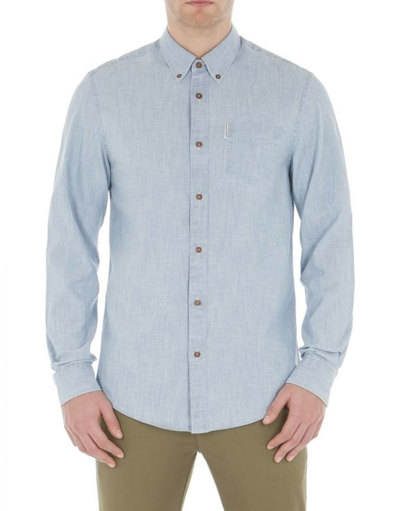 BEN SHERMAN BEN SHERMAN MEN'S LS CHAMBRAY 0047978