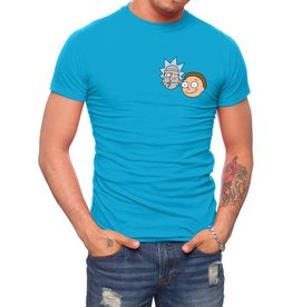 JOAT RICK AND MORTY RM0030-T1031H EMBROIDERED HEADS