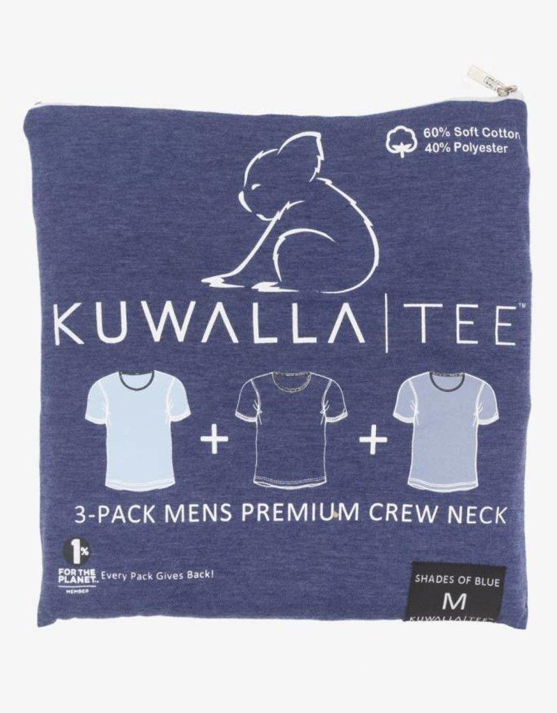 KUWALLA KUWALLA MEN'S 3 PACK SS T-SHIRT KUL-BLC16