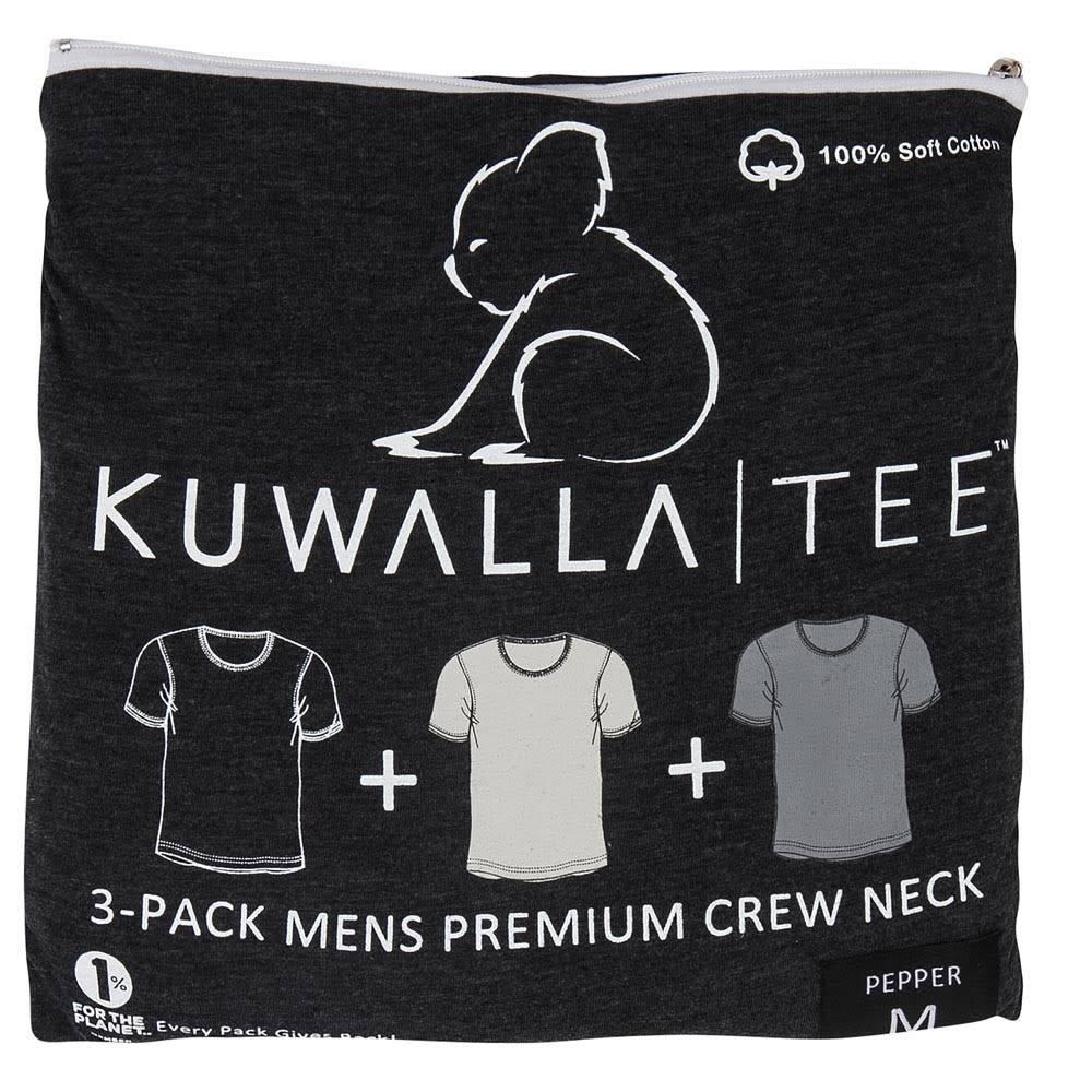 KUWALLA KUWALLA MEN'S 3 PACK SS T-SHIRT KUL-CG2007
