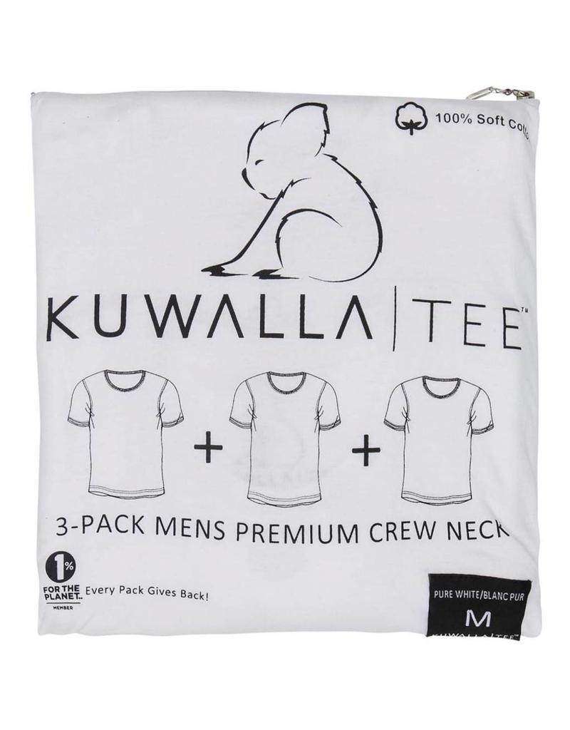 KUWALLA KUWALLA MEN'S 3 PACK SS T-SHIRT KUL-CW0531