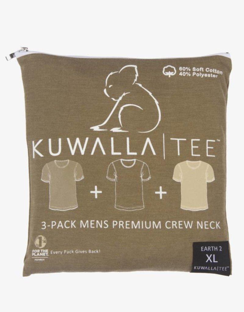 KUWALLA KUWALLA MEN'S 3 PACK SS T-SHIRT KUL-EC1610