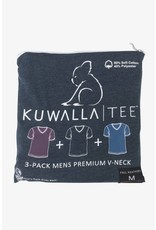 KUWALLA KUWALLA HOMMES 3 PR T-SHIRT KUL-HV016