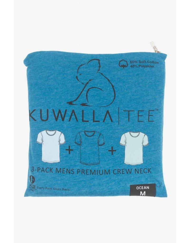 KUWALLA KUWALLA HOMMES 3 PR T-SHIRT KUL-OC1601