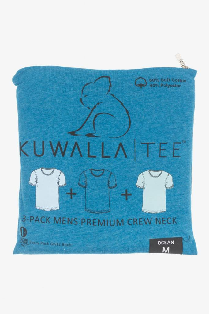 KUWALLA KUWALLA MEN'S 3 PACK SS T-SHIRT KUL-OC1601