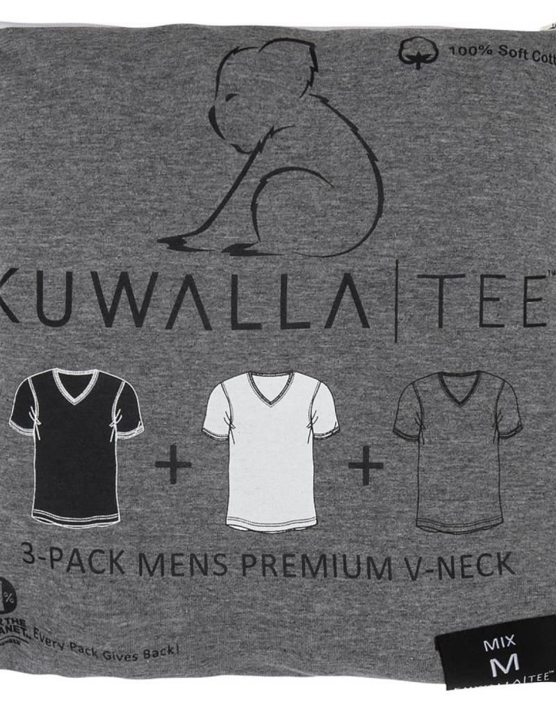 KUWALLA KUWALLA HOMMES 3 PR T-SHIRT KUL-VM1205