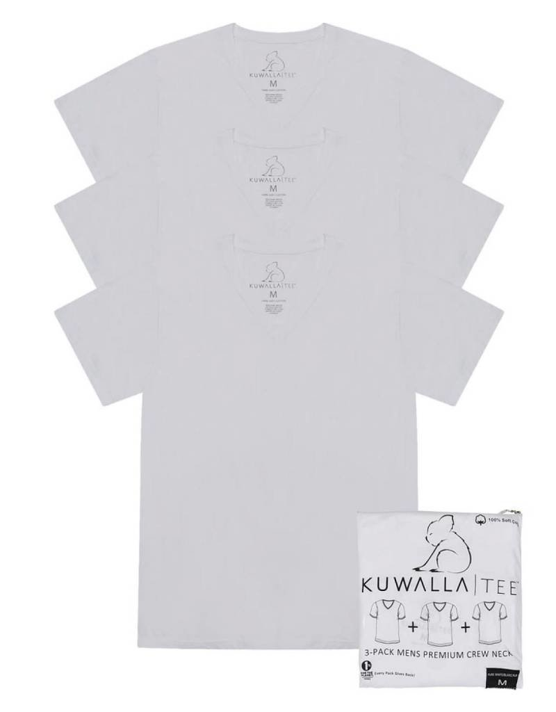 KUWALLA KUWALLA MEN'S 3 PACK SS T-SHIRT KUL-VW1225