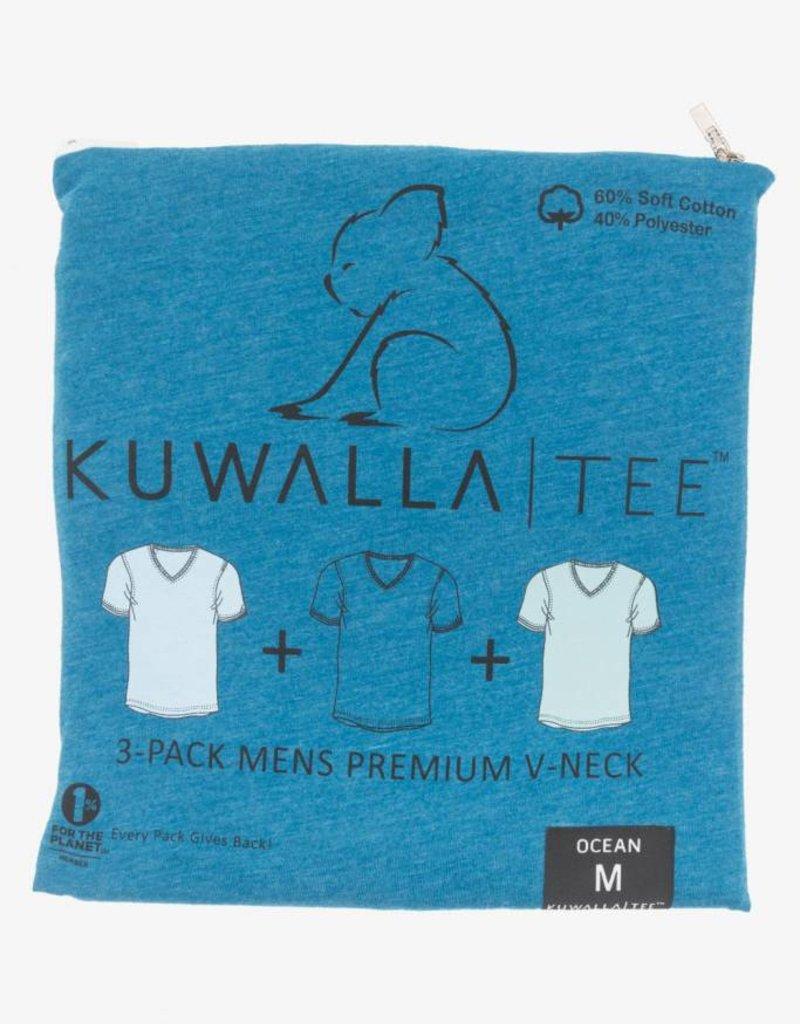 KUWALLA KUWALLA HOMMES 3 PR T-SHIRT KUL-OV1601