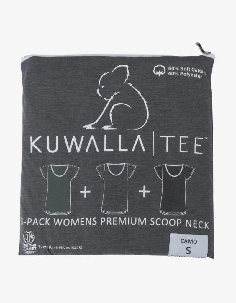 KUWALLA KUWALLA WOMEN'S 3 PACK SS T-SHIRT KUL-WCC116