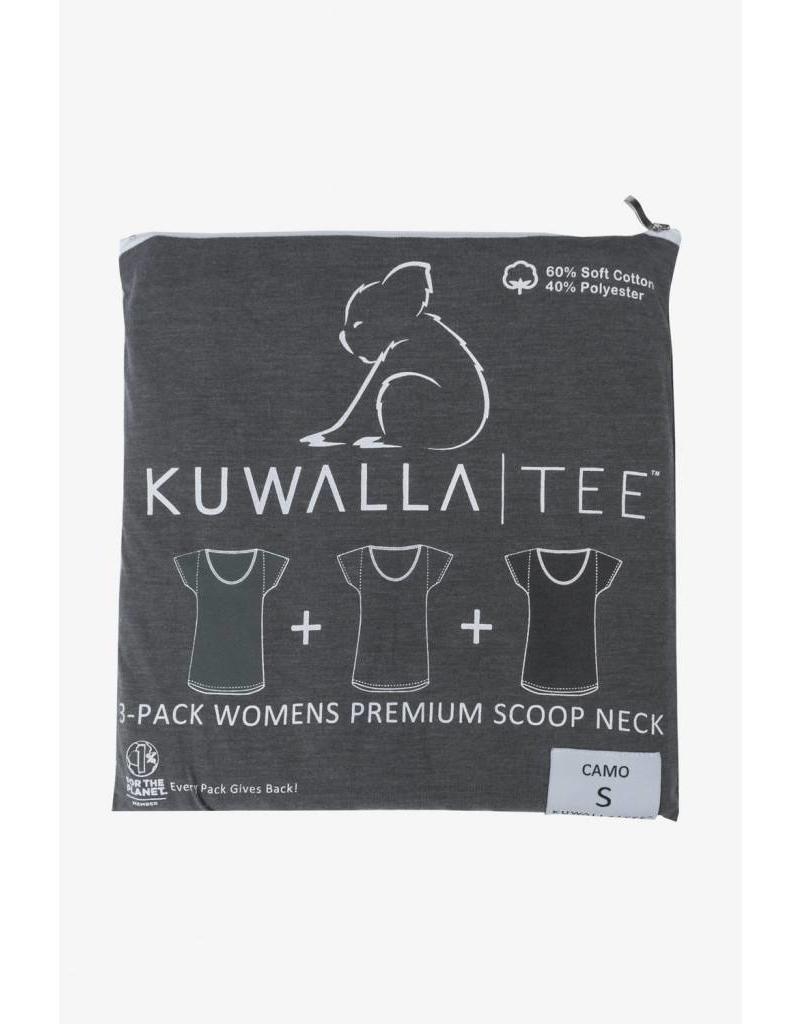 KUWALLA KUWALLA FEMMES 3 PR T-SHIRT KUL-WCC116