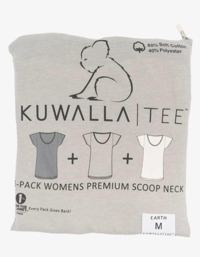 KUWALLA KUWALLA WOMEN'S 3 PACK SS T-SHIRT KUL-WEC1603