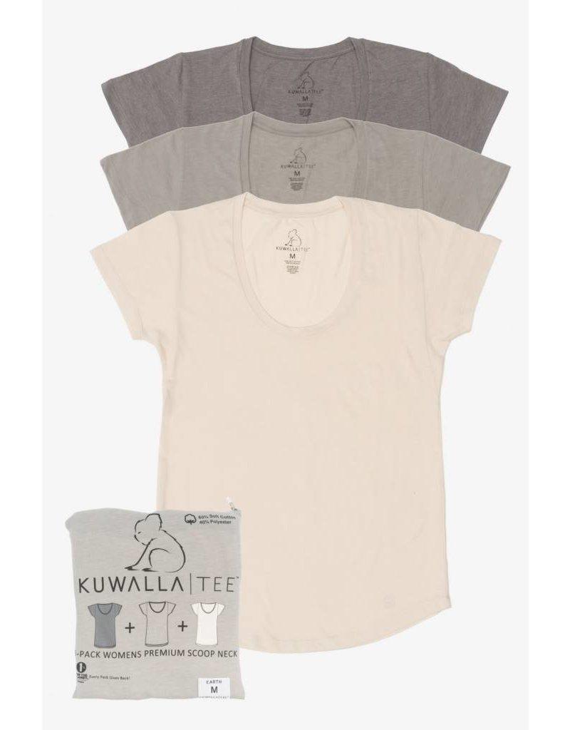 KUWALLA KUWALLA FEMMES 3 PR T-SHIRT KUL-WEC1603
