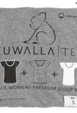 KUWALLA KUWALLA FEMMES 3 PR T-SHIRT KUL-WCM42
