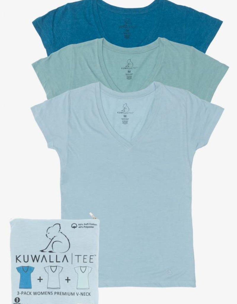 KUWALLA KUWALLA WOMEN'S 3 PACK SS T-SHIRT KUL-WOV1602