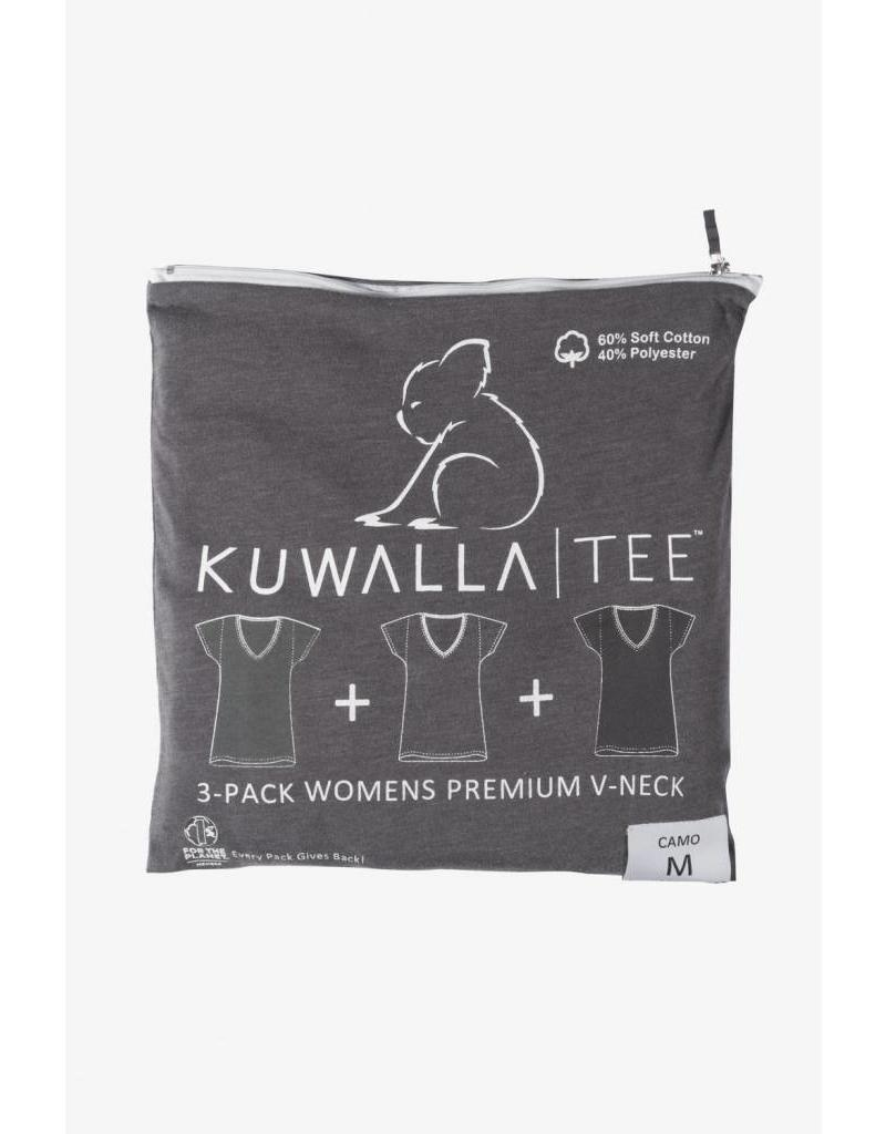 KUWALLA KUWALLA WOMEN'S 3 PACK SS T-SHIRT KUL-WCV116