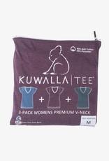 KUWALLA KUWALLA WOMEN'S 3 PACK SS T-SHIRT KUL-WHV116