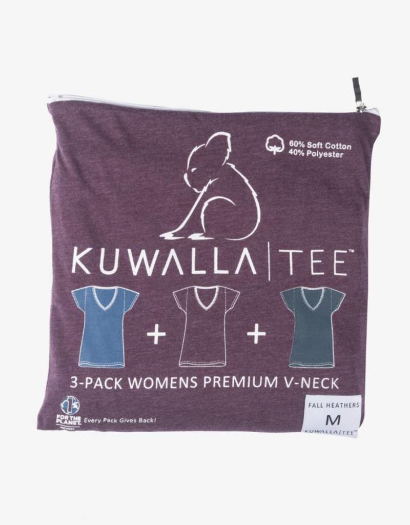 KUWALLA KUWALLA FEMMES 3 PR T-SHIRT KUL-WHV116