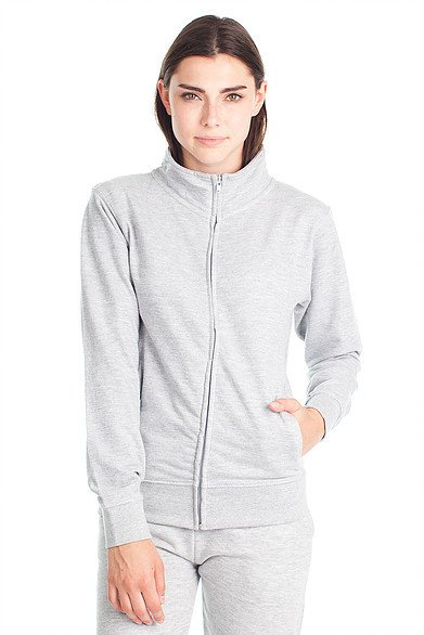 SCHRETER SCHRETER WOMEN'S FRENCH TERRY ZIP L377