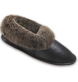 MEN'S SHEEPSKIN SLIPPERS CLOSED BACK 200U