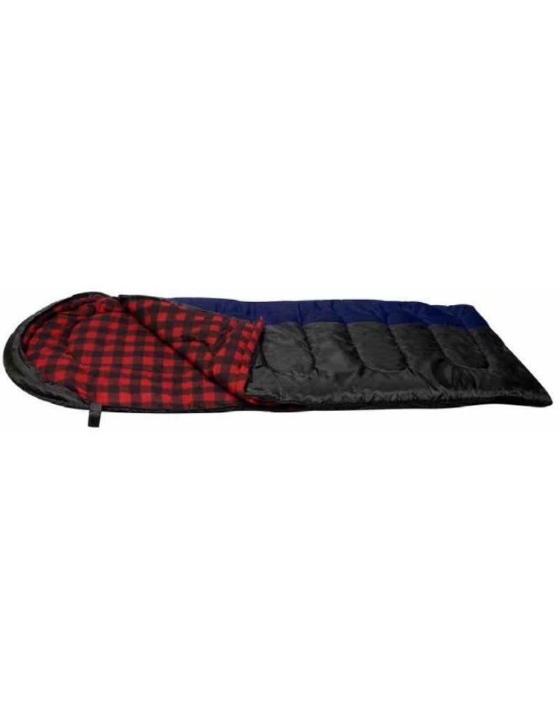 NORTH 49 SLEEPING BAG TOASTY 3.5 5802EU/NOIR : 3.5LBS