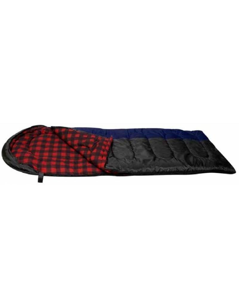 NORTH 49 SLEEPING BAG TOASTY 3.5 5802EU/NOIR : 3.5LBS