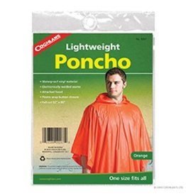 "COGHLAN'S PONCHO ORANGE (52"" x 80"") 9267"