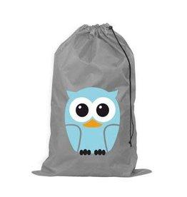 KIKKERLAND KIKKERLAND LAUNDRY BAG OWL BLUE LB04-B