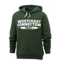 WESTCOAST 'RETRO'  HOODED SWEATSHIRT