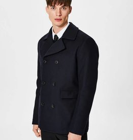 SELECTED SELECTED MEN'S WOOL PEACOAT 16057091