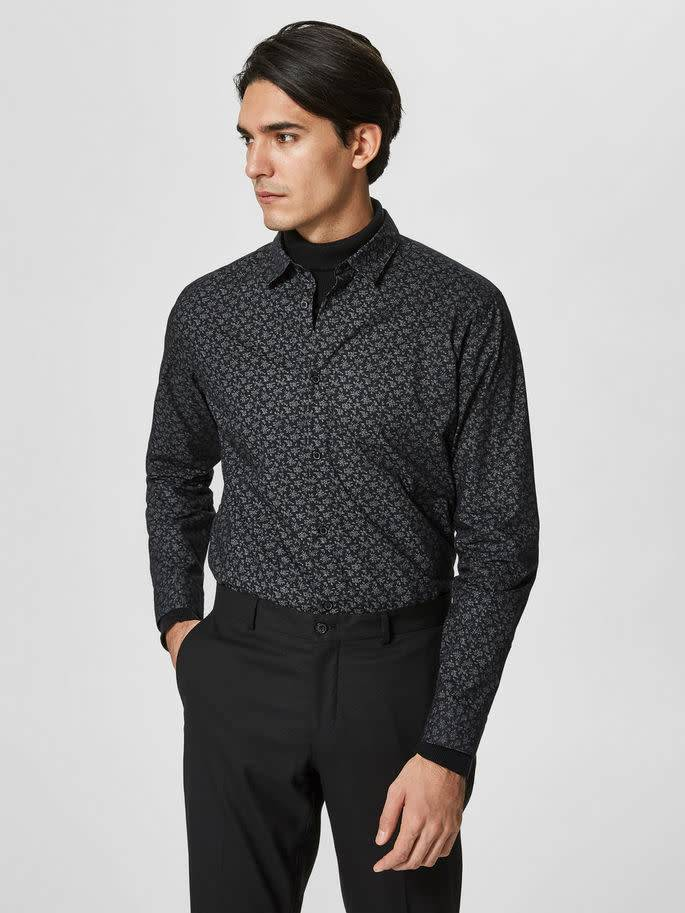 SELECTED SELECTED MEN'S SLIM FIT LS SHIRT 16059030