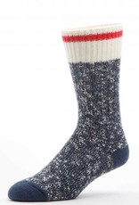DURAY DURAY MEN'S SOCK 558/BLUE MARLED SIZE LARGE  183