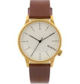 KOMONO KOMONO WINSTON REGAL WATCH CHESTNUT KOM.W2263