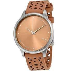 KOMONO KOMONO WOMEN'S ESTELLE CUTOUT WATCH SEASHELL SILVERKOM.W2650
