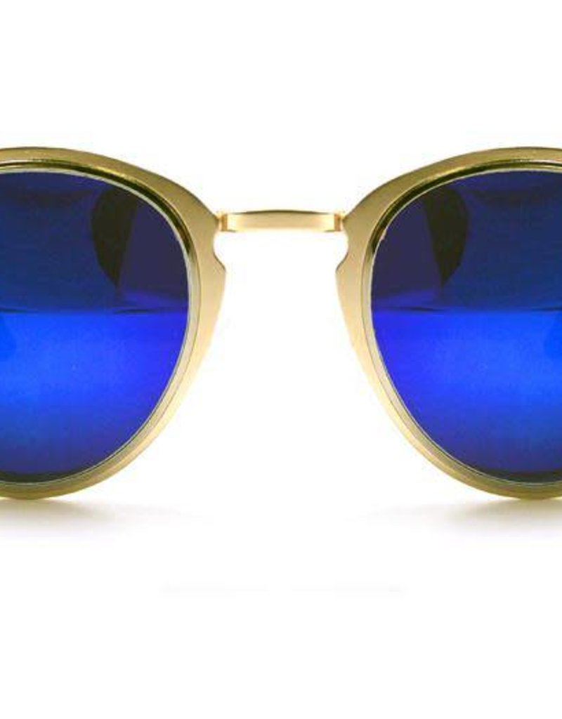 SPITFIRE SPITFIRE WARP GOLD/SILVER/BLUE SUNGLASSES