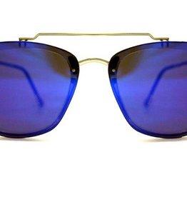 SPITFIRE SPITFIRE FLT2 CLEAR/BLUE MIRROR SUNGLASSES
