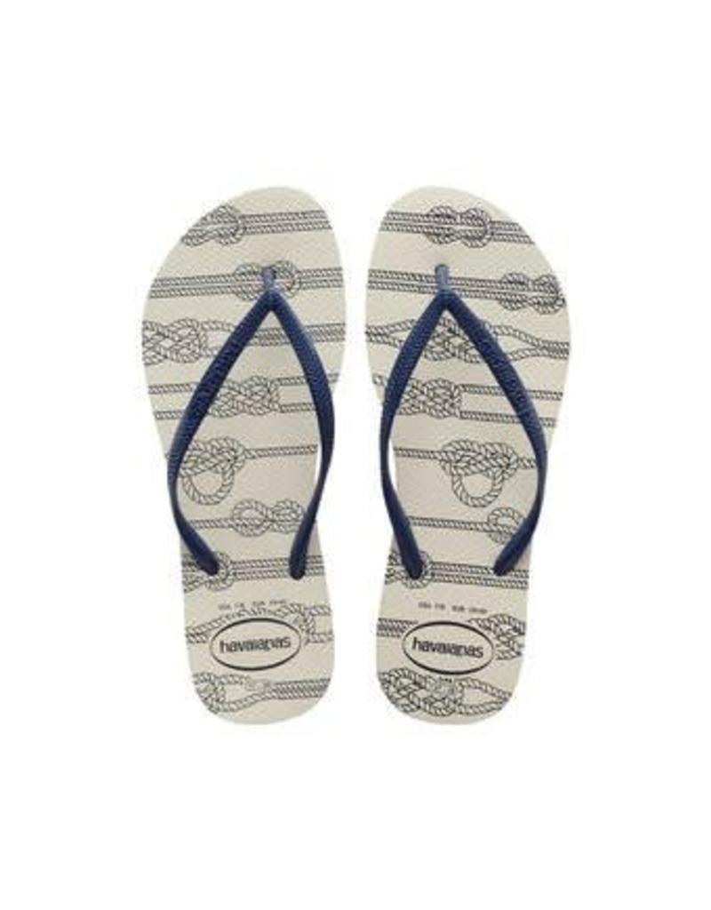 HAVAIANAS HAVAIANAS WOMEN'S SLIM NAUTICAL 4137125